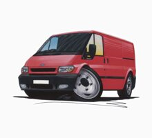 Ford Transit (Mk6) Red by Richard Yeomans
