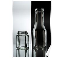 crystal bottles and containers Poster
