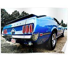 Ford Mustang Dreams Poster