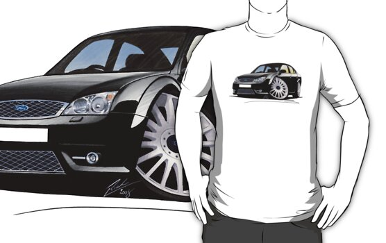 Ford Mondeo ST 220 Black by Richard Yeomans