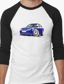 Ford Mondeo ST 220 Blue Men's Baseball ¾ T-Shirt