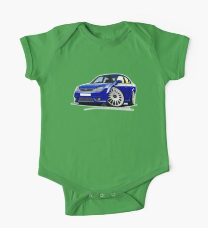 Ford Mondeo ST 220 Blue One Piece - Short Sleeve