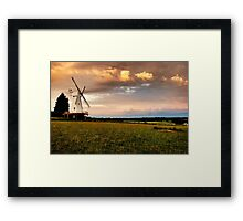 Woodchurch Mill Framed Print