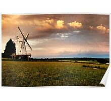 Woodchurch Mill Poster
