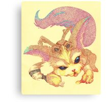Pointillism - Gnar Canvas Print