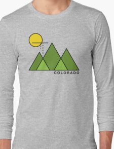 Minimal Colorado Long Sleeve T-Shirt