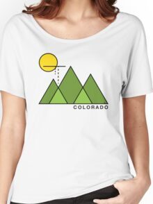 Minimal Colorado Women's Relaxed Fit T-Shirt