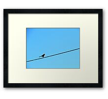 Blue Sky Framed Print