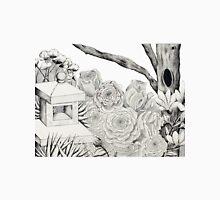 Garden Pointillism Unisex T-Shirt