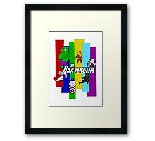 The Baavengers Framed Print