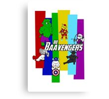 The Baavengers Canvas Print