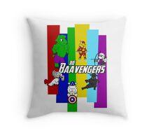 The Baavengers Throw Pillow
