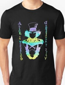 Alice in Wonderland Psychedelic  Unisex T-Shirt