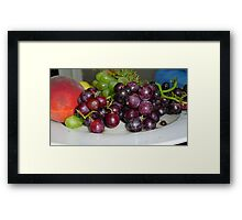 Fruit Platter Framed Print