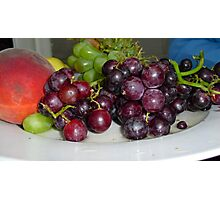 Fruit Platter Photographic Print