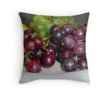 Fruit Platter Throw Pillow