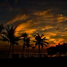 Sunset at Legian by Keith Irving