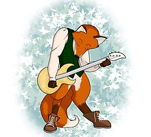 Foxy Guitarist by mikaelaK