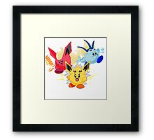 Kirbeelutions Framed Print