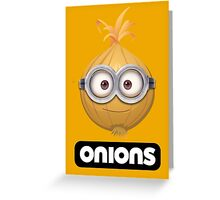 Onions - A Parody Greeting Card