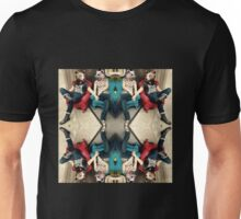 mosaic of bears in love Unisex T-Shirt