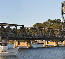 Bridge at Batemans Bay by julie anne  grattan