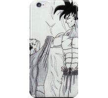 soups vs goku iPhone Case/Skin