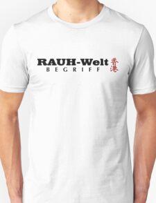 Rauh-Welt Begriff Hongkong T-Shirt