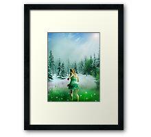 SUMMER BRINGER Framed Print