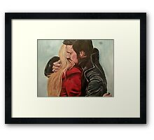 The hug that never was Framed Print