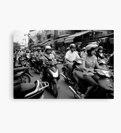 Hanoi Hustle Canvas Print