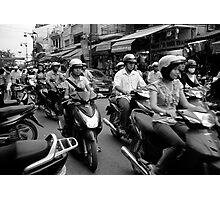 Hanoi Hustle Photographic Print