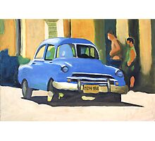 Cuban Buyers. Photographic Print