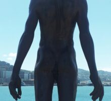 Wellington Waterfront Statue Sticker