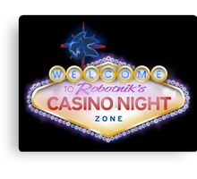Casino Night Zone Canvas Print