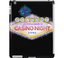 Casino Night Zone iPad Case/Skin