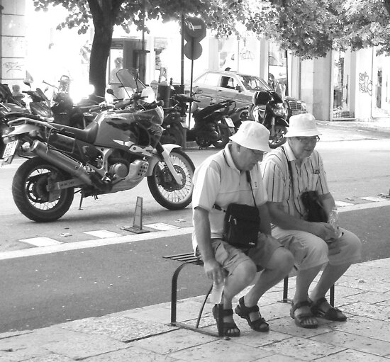 Double Trouble .....Corfu Town by fruitcake