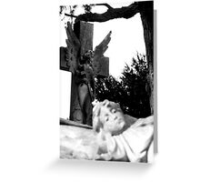 Watching over Greeting Card