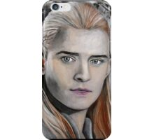Portrait of the prince iPhone Case/Skin