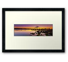 Ocean Reef Harbour Framed Print