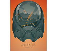 Andromeda Travels - Inferno Photographic Print