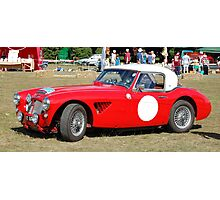 Classic Austin Healey Photographic Print