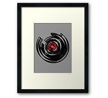 Vinylized! - Vinyl Records - New Modern Vinyl Records T Shirt Framed Print