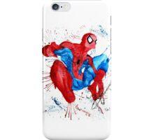 Spider-Man Watercolor Splash iPhone Case/Skin