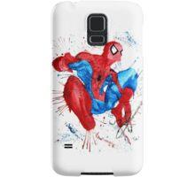 Spider-Man Watercolor Splash Samsung Galaxy Case/Skin