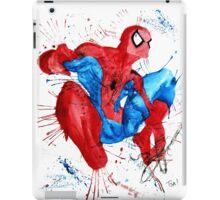 Spider-Man Watercolor Splash iPad Case/Skin