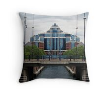 Salford Buildings Throw Pillow
