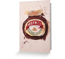 Marmite Greeting Card