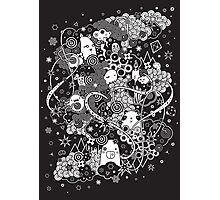 Pandamonium Photographic Print