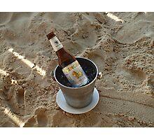 Beer Ice Bucket Photographic Print